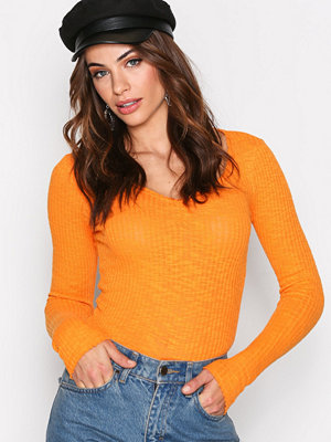 NLY Trend Desert Sweetheart Top Orange