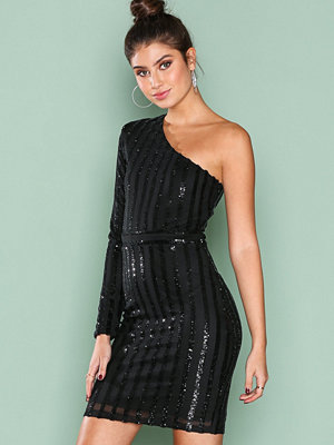 NLY One Holy Sequin Dress Svart