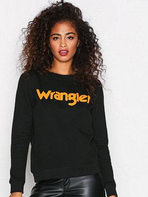Wrangler Logo Sweat Black