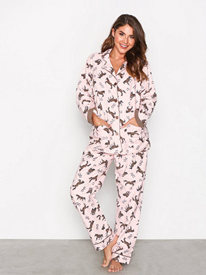 Pyjamas & myskläder - P-J Salvage Rehop PJ Set Rosa