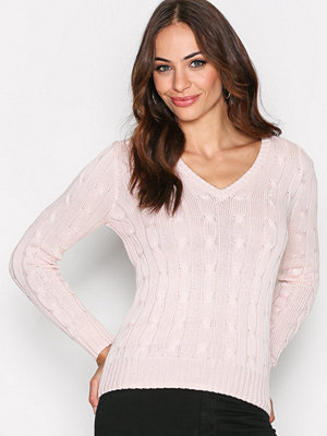 Polo Ralph Lauren Kimberly Long Sleeve Sweater Pale Pink