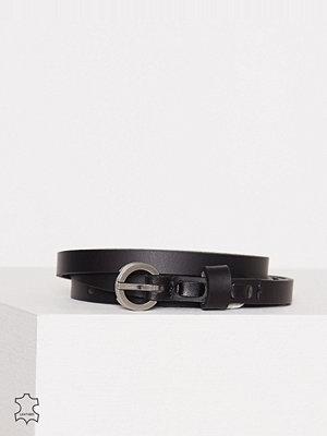 Bälten & skärp - Calvin Klein Skinny Belt 1cm Svart