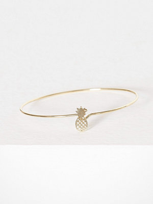 MINT By TIMI armband Pineapple bangle Guld