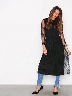 MOSS Copenhagen Sabria Lace Dress Black