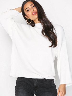 Object Collectors Item Objindra T-Neck Knit Pullover Apb Offwhite