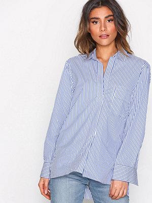 Filippa K Relaxed Stripe Shirt White/Blue