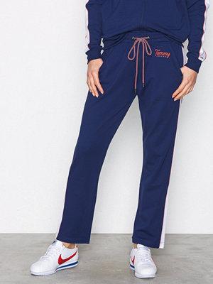 Tommy Jeans marinblå byxor Tjw Track Pant 17 Blue