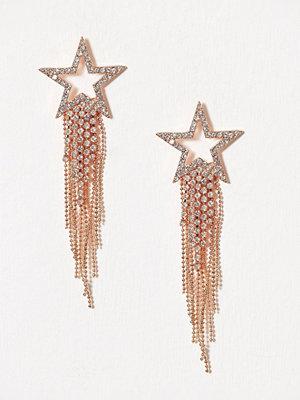 New Look örhängen Star Duster Earrings Gunmetal