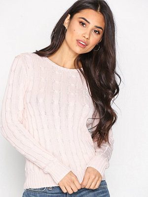 Polo Ralph Lauren Julianna-Classic-Long Sleeve-Sweater Pale Pink