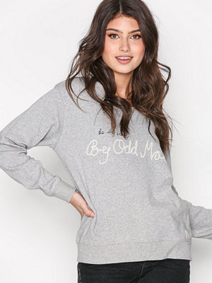 Odd Molly Pleasant Sweater Light Grey Melange