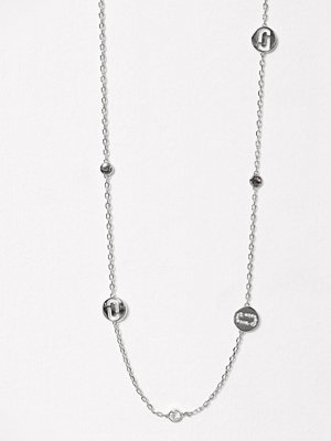 Marc Jacobs halsband Long Necklace Silver