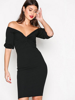 NLY Trend Belle Sleeve Dress Svart