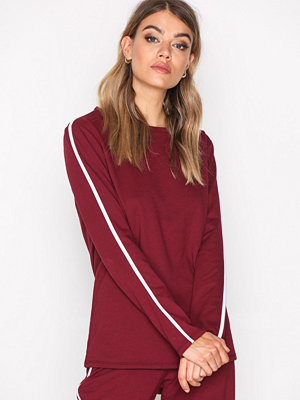 NLY Trend Sporty Sweat Burgundy
