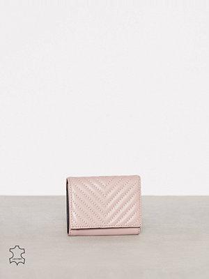 Plånböcker - Rebecca Minkoff Trifold Love Wallet Rosa