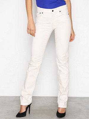 Lauren Ralph Lauren vita byxor Prm Straight Pant Cream
