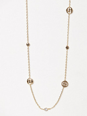 Marc Jacobs halsband Long Necklace Guld