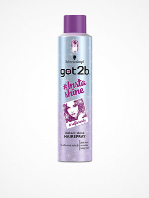 Hårprodukter - Schwarzkopf Got2b #insta Shine Hair Spray 300ml Transparent
