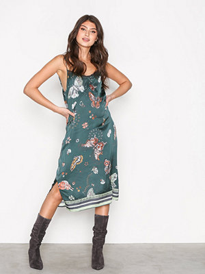 Odd Molly Dearly Slip Dress Green