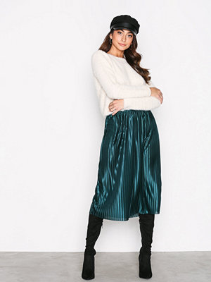 NLY Trend Pleated Skirt Emerald Green