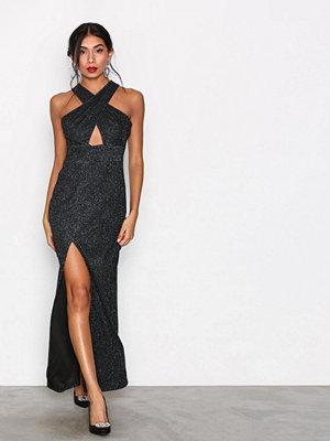 Ax Paris Crossover Maxi Dress Black