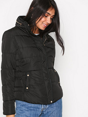 New Look Padded Puffer Jacket Black