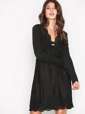 Odd Molly Blossom Dress Almost Black