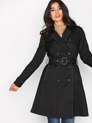 Lauren Ralph Lauren DB Trench Coat Black