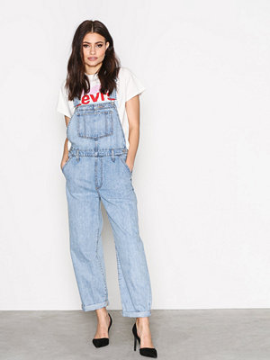 Levi's Baggy overall miss twin p Blå