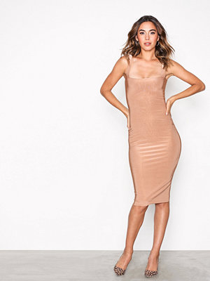 NLY One Double Layer Bodycon Camel