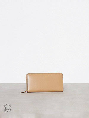 Lauren Ralph Lauren Zip Wallet Cream