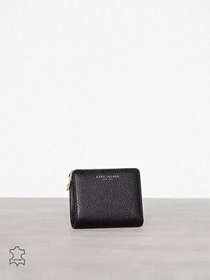 Plånböcker - Marc Jacobs Mini Compact Wallet Svart/Guld