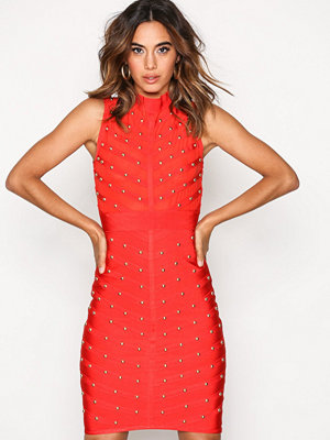 Wow Couture Sleeveless Bandage Dress Red