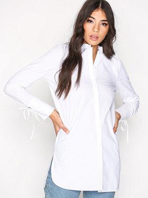 Vero Moda Vmjuljane 7/8 Long Shirt Vit