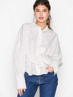 Vero Moda Vmnate L/S Shirt D2-1 Vit