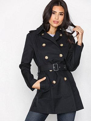 Trenchcoats - Lauren Ralph Lauren Trpl Trnh Bl Coat Navy