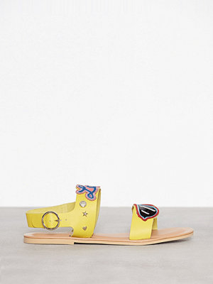 Love Moschino Flat Sandal Gul