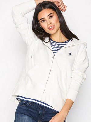 Polo Ralph Lauren Full Zip Hoodie White