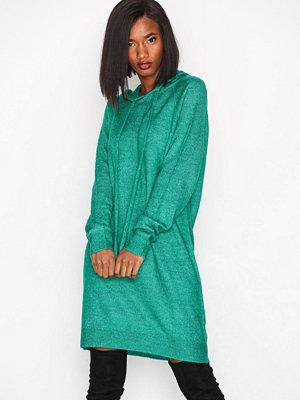 Vero Moda Vmrana Ls Hoodie Dress Mörk Grön