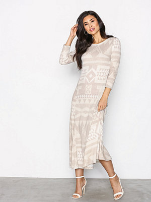 Polo Ralph Lauren Long Sleeve Dress Beige