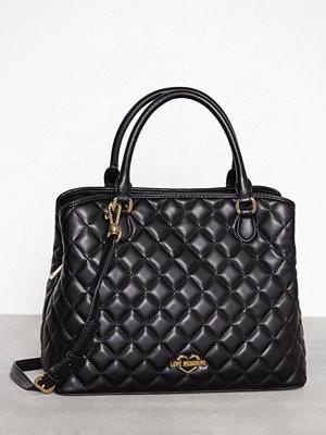 Love Moschino Quiltad handväska Svart
