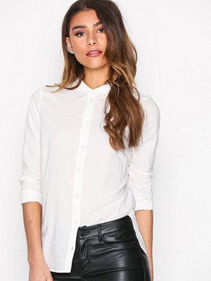 Vero Moda Vmkate Isabell L/S Long Shirt Noos Vit