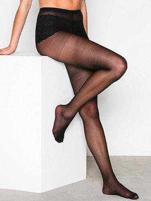 Strumpbyxor - NLY Lingerie Pretty Legs Tights 15 Den Svart