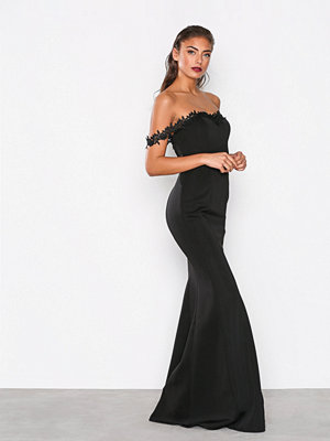 NLY Eve Flirt Me Mermaid Gown Svart