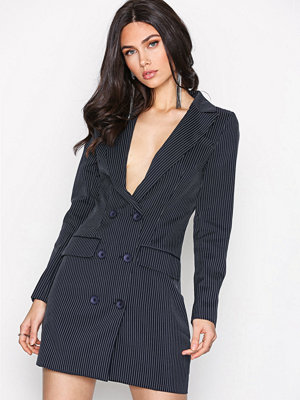 Missguided Blazer Dress Navy