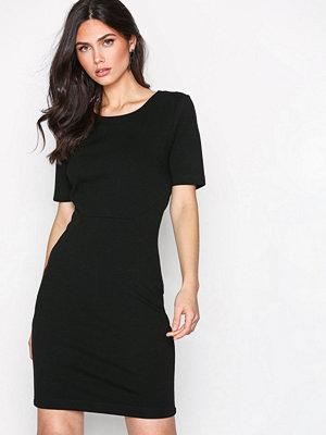 Vila Vifellow S/S Dress - Noos Svart
