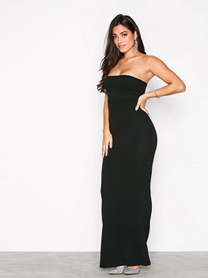 Missguided Crepe Sleeveless Dress Black