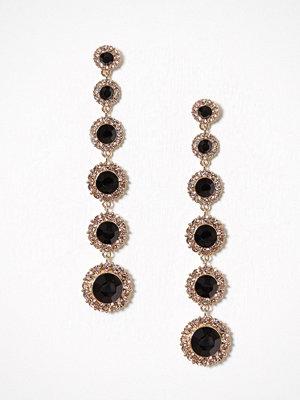 Lily and Rose örhängen Celeste Earrings Jet Black