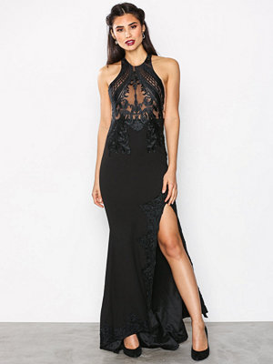Love Triangle Gandeur Maxi Dress Black