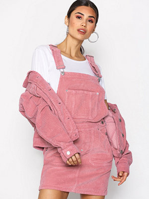 Tommy Jeans Dungaree Dress Blush