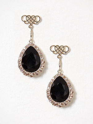 Lily and Rose örhängen Miss Scarlett Earrings Jet Black